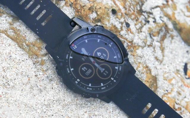 军拓铁腕5X航母限量版智能户外手表