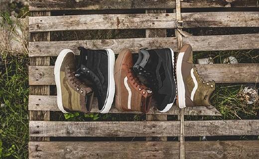 帆布鞋也防水!Vans推出技能面料联名款户外鞋