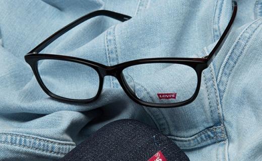 Levi's近視眼鏡架:復古文藝風,另送非球面鏡片