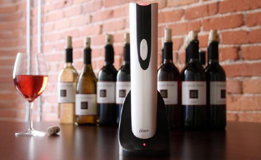 美國人發明的電動開瓶器,開紅酒也能如此高逼格