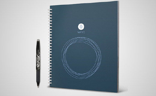 可以用一輩子的紙質筆記本,微波加熱就能變全新
