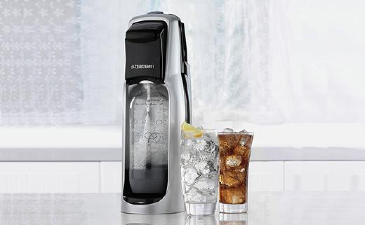 英国皇室都在用的超强气泡水机,从此抛弃各种碳酸饮料
