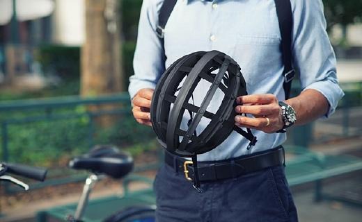 折起來能放進書包的頭盔,保護你的騎行安全
