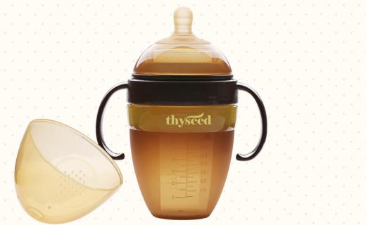 世喜防脹氣奶瓶:安全無毒硅膠材質,防脹氣奶嘴健康飲用