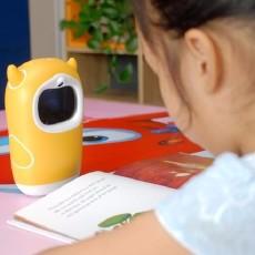 陪伴孩子成长学习的好伙伴:牛听听儿童智能熏教机万博体育app读书牛
