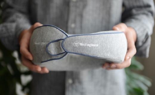 在家和老公搶著用的按摩枕:低頻電流太舒爽,柔軟支撐放松頸椎!