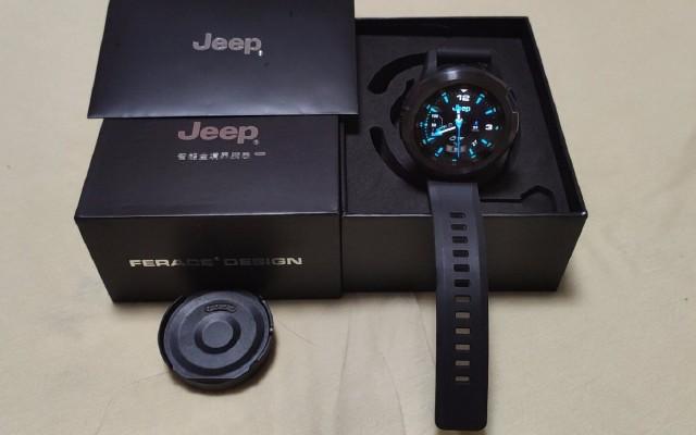 酷炫的Jeep智能手表試用報告