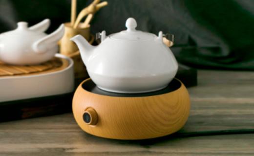全瓷時代電陶燒水爐:紅外線發熱原理無輻射,保健理療健康飲水