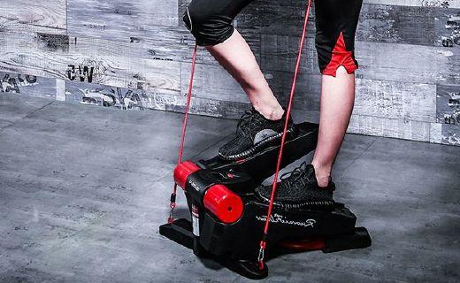 若賽FE300踏步機:納米傳動減少噪音,雙液壓支架承重強