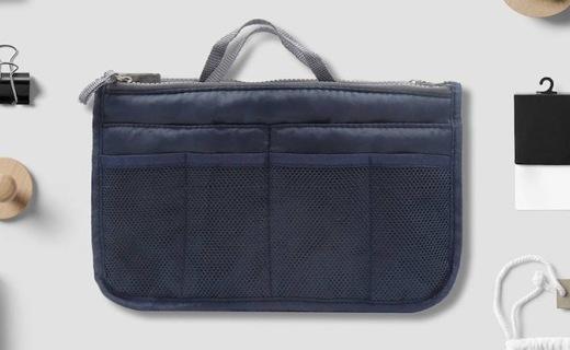LAQ旅行多功能收納包:高密度設計防撕耐磨,可調節內里收納方便