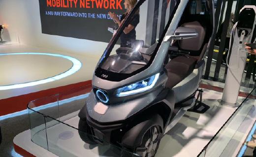 「CES 2020」未来座驾就是它?小牛新款拉风神车现场万博体育max下载!自动驾驶只是前菜……