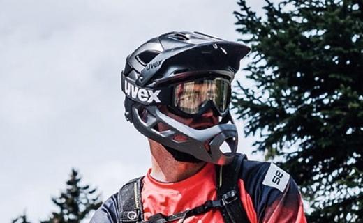 UVEX變形山地騎行頭盔,半盔全盔10秒就能切換