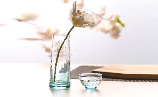 石塚硝子花瓶:離子強化玻璃制作,抗磕耐磨晶瑩剔透