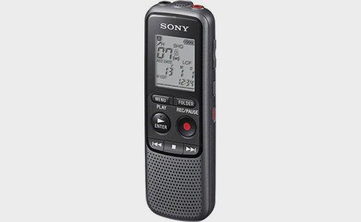 索尼CD-PX240錄音筆:18小時高續航,多音頻格式更清晰