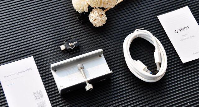 設計精巧,傳輸穩定,ORICO桌面背夾式USB集線器體驗