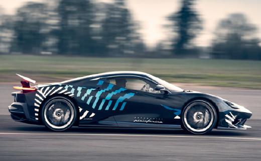 全球限量5輛的純電動超跑!時速350公里,售價高達2021萬元