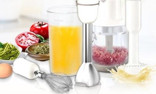 飞利浦多功能料理机:创新Promix搅拌技术,一机轻松搞定多种美味