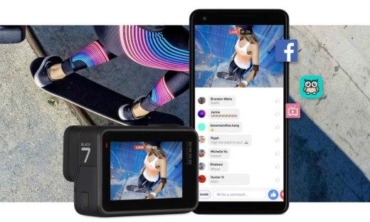 内置直播,超强防抖:GoPro发布HERO7 系相机
