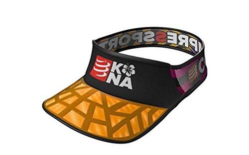 Compressport輕量空頂帽:網布拼接輕量透氣,KONA紀念版