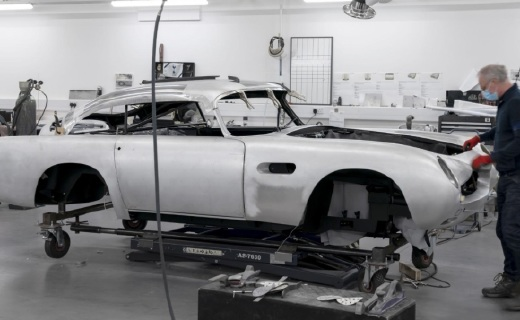 阿斯頓·馬丁DB5詹姆斯·邦德限量版正式推出,售價2674萬元