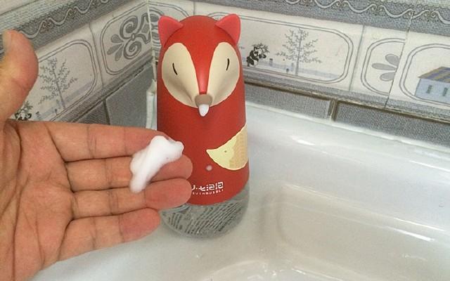 让孩子爱上洗手、讲卫生,奶爸给你支一招! 小七泡沫洗手机