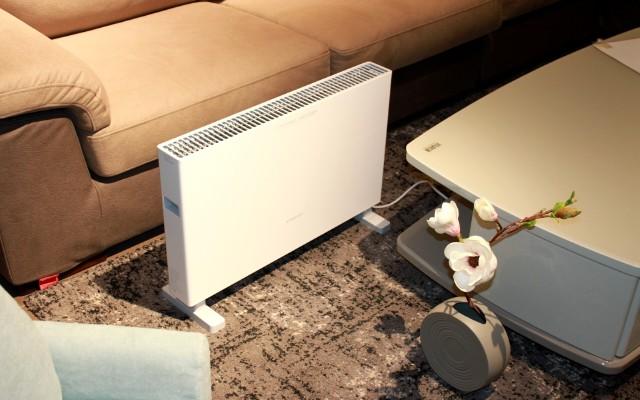 智米电暖器智能版,热是要有温度的,我的爱就是你身边