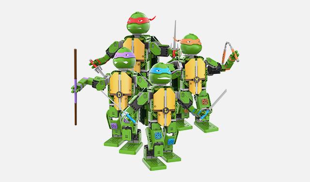 优必选忍者龟Jimu机器人 首发试用
