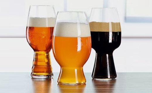 Spiegelau啤酒杯套装:水晶玻璃制?#32617;?#39640;,一人也能饮酒醉
