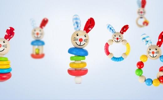 Heros婴儿玩具组合:天然榉木德国制造,爱因斯坦小时候都玩