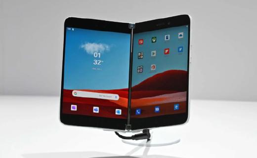 為應對Galaxy Fold2上市!微軟或提前發布Surface Duo雙屏手機!