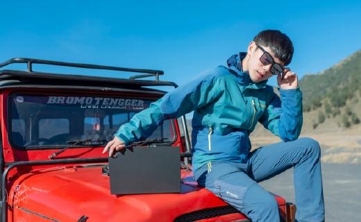 「體驗」戶外大咖帶ThinkPad去擼超級火山,竟然還幫它測了體質?