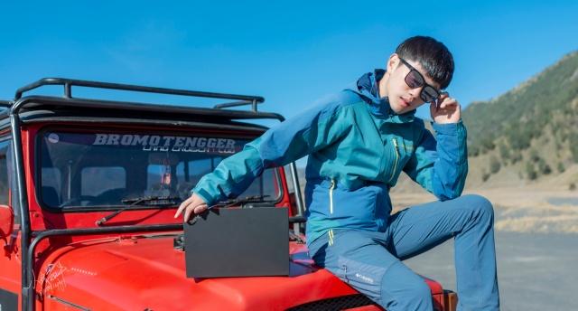 「万博体育max下载」户外大咖带ThinkPad去撸超级火山,竟然还帮它测了体质?