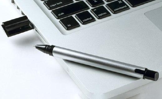 KACO U盤筆:陽極氧化鋁筆桿,筆帽內置16GU盤