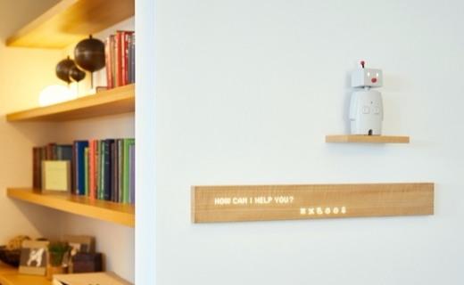 支持物聯網的木頭,最優雅的智能家居屏幕
