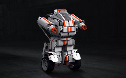 小米米兔积木机器人:978块高精零件多变造型,智能自平衡还可编程