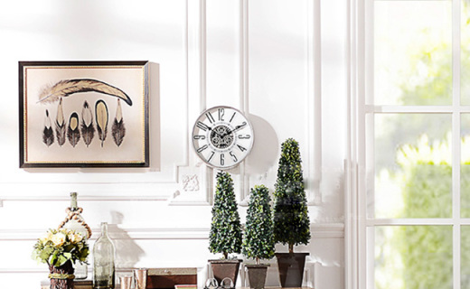 奇居良品裝飾鐘表:時尚簡約的設計,讓您感受時間流動歲月沉浮