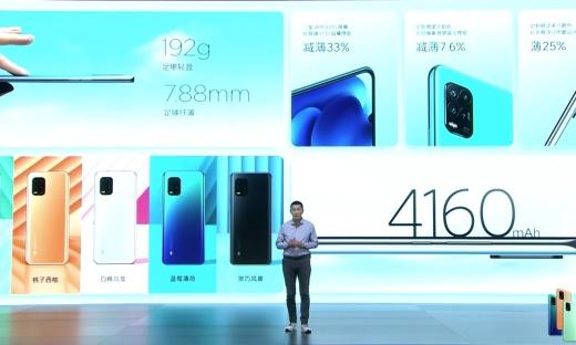 MIUI 12+50倍潛望式變焦!小米10青春版5G發布,2099元起