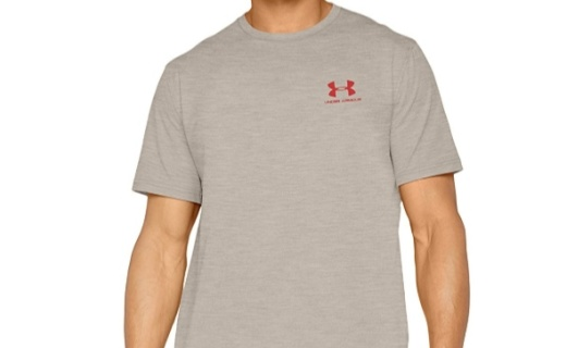 安德玛短袖T恤:运动面料舒适柔软,排潮系统持久干爽万博体育max下载
