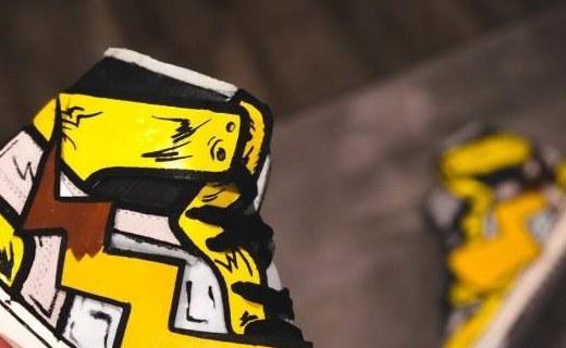 「新东西」黄白配色+闪电尾巴,皮卡丘主题球鞋上线!