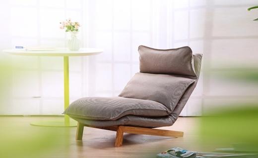 顧家家居懶人沙發:多檔調節放松頭頸,北歐風格的北京癱