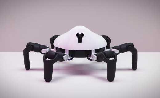 雙十一到底買什么?送男友逗孩子的不二之選,可定制的蜘蛛機器人萌你一臉!