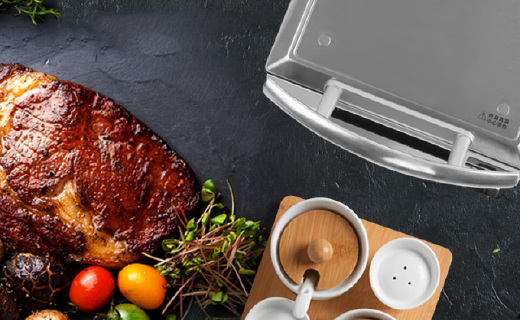 燦坤家用烤牛排機:7檔精準控溫設計,大廚級牛排在家也能做