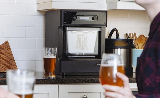 僅咖啡機大的啤酒釀造機,在家輕松自制精釀啤酒