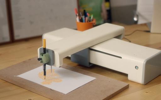 有了这个打印机,老师罚抄100遍也不怕