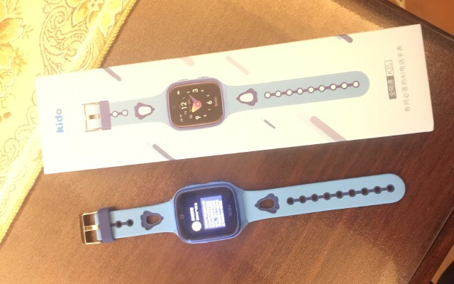 鑫寶貝的新伙伴新護盾----Kido K3S智能兒童手表。