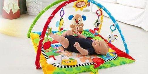 費雪 FFX82 嬰幼學習健身器:?科學帶動寶寶玩耍中學習,成長階段寶媽不操心