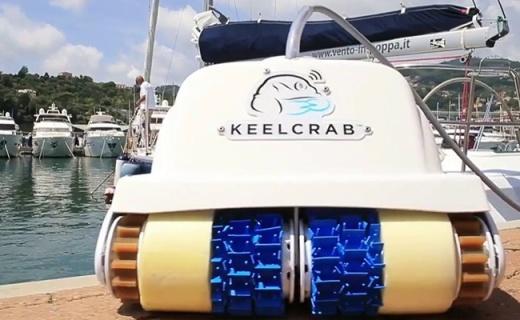 看尼?#36141;?#27700;?#38047;?#25103;了!带履带的小潜艇无惧水草还能做清洁工
