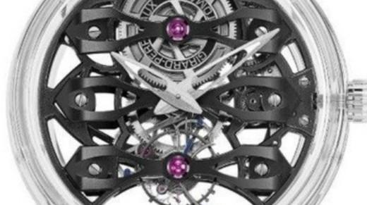 通體藍寶石!芝柏發布Quasar腕表