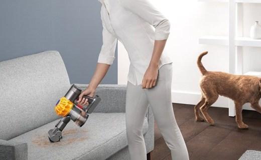 戴森手持式吸塵器:20分鐘長效清潔,10萬轉馬達強力吸除過敏原