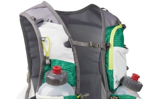 优地双水壶越野背包:特别纪念款,增设大容量手机袋及登山杖挂点